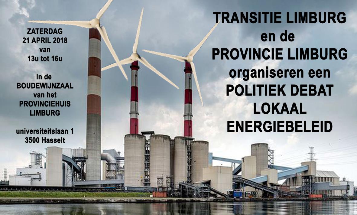 Politiek debat 'lokaal energiebeleid' @ Boudewijnzaal, Provinciehuis  | Hasselt | Vlaanderen | België