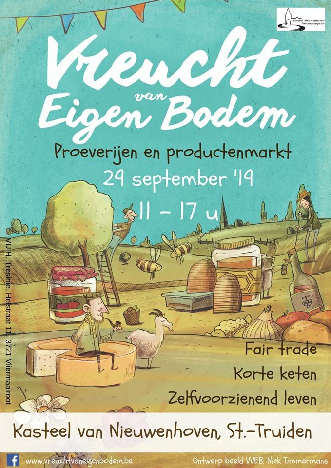 Vreucht van Eigen Bodem @ KASTEEL Nieuwenhoven